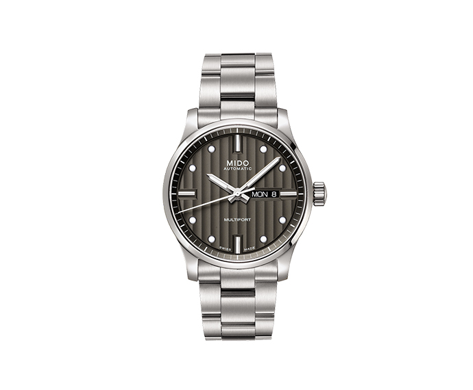 MIDO - Multifort steel anthracite dial with bracelet