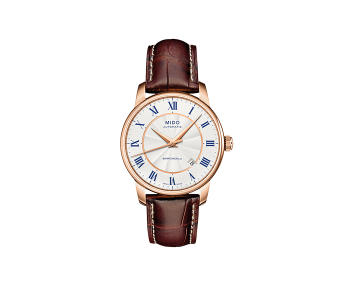 MIDO - Baroncelli Gent pvd roman numbers strap