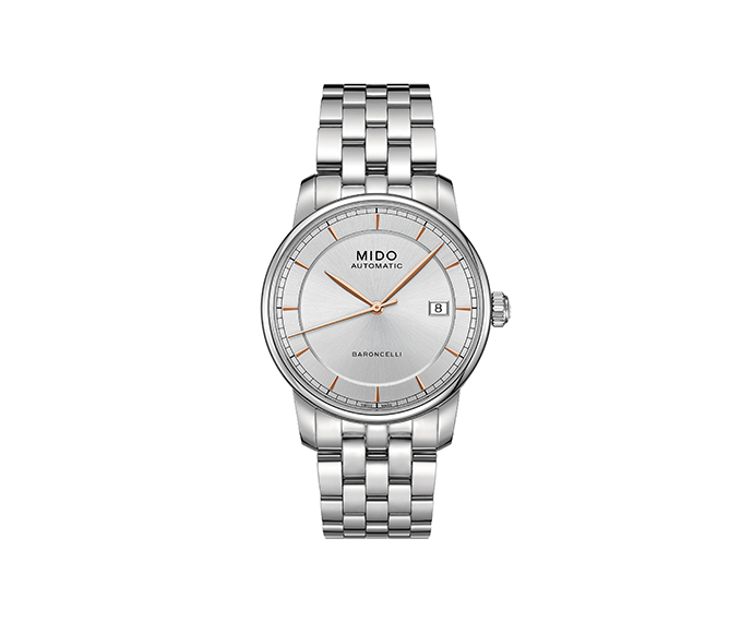 MIDO - Baroncelli Gent steel strap