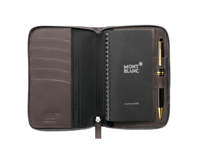 Montblanc - Meisterstück Selection agenda small with zip