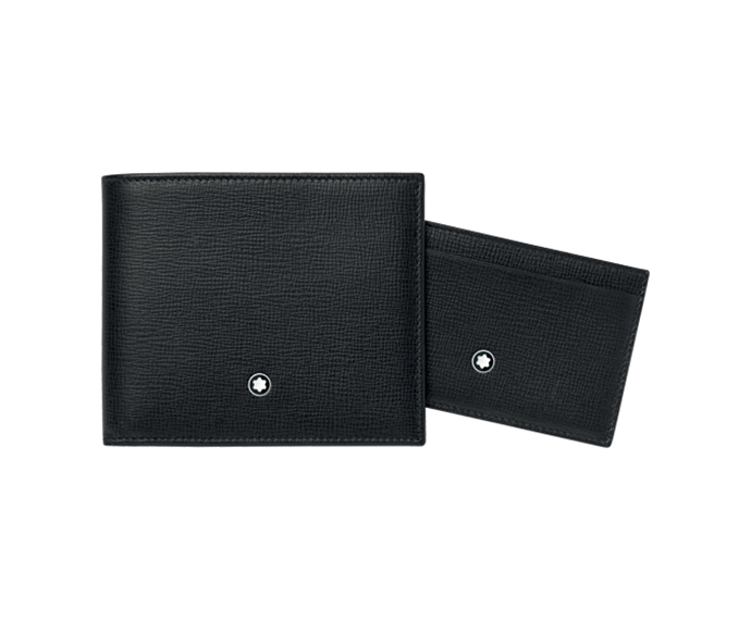 Montblanc - Gift Set: Wallet 6 Pockets and Folded Pocket 2 slots