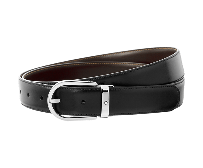 Montblanc - Black/Brown Reversible Business Belt