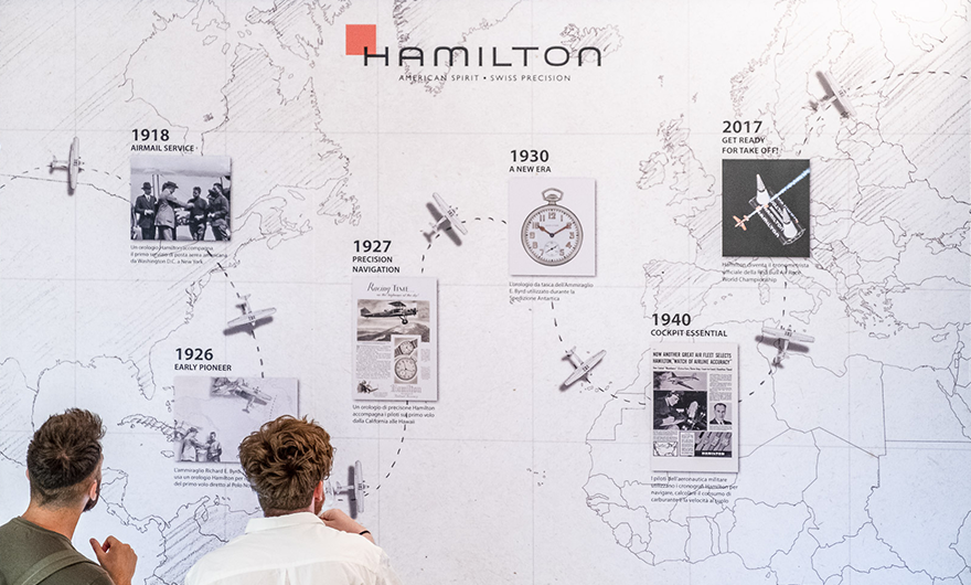 Rocca & Hamilton: homage to the sky protagonists