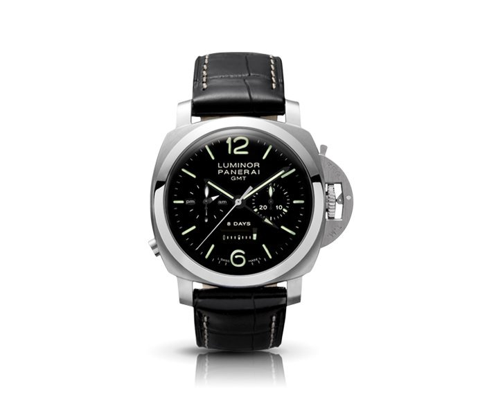 Panerai - Luminor 1950 Chrono Monopulsante 8 Days GMT Acciaio – 44MM