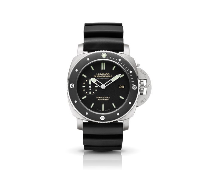 Panerai - Luminor Submersible 1950 Amagnetic 3 Days Automatic Titanio – 47MM