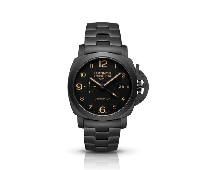 Panerai - TuttoBlack – Luminor 1950 3 Days GMT Automatic Ceramic – 44MM