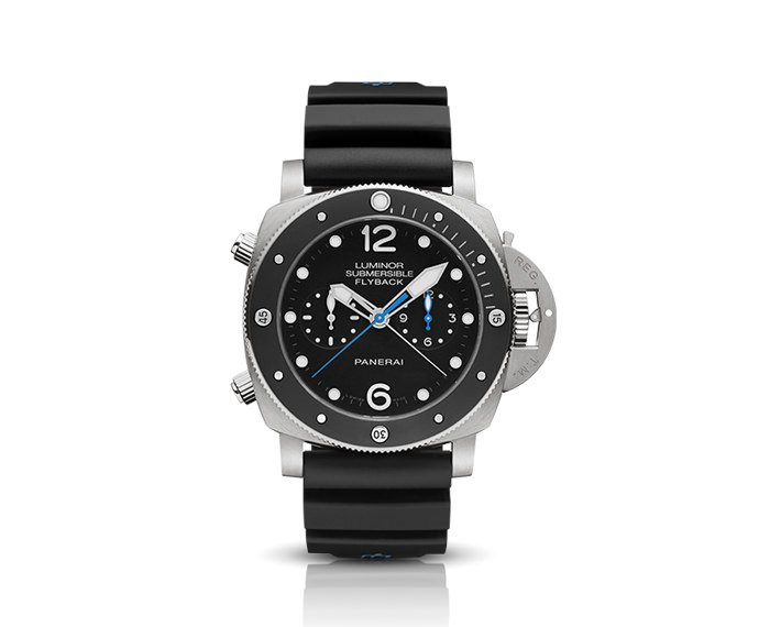 Panerai - Luminor Submersible 1950 3 Days Chrono flyback Automatic Titanium – 47MM