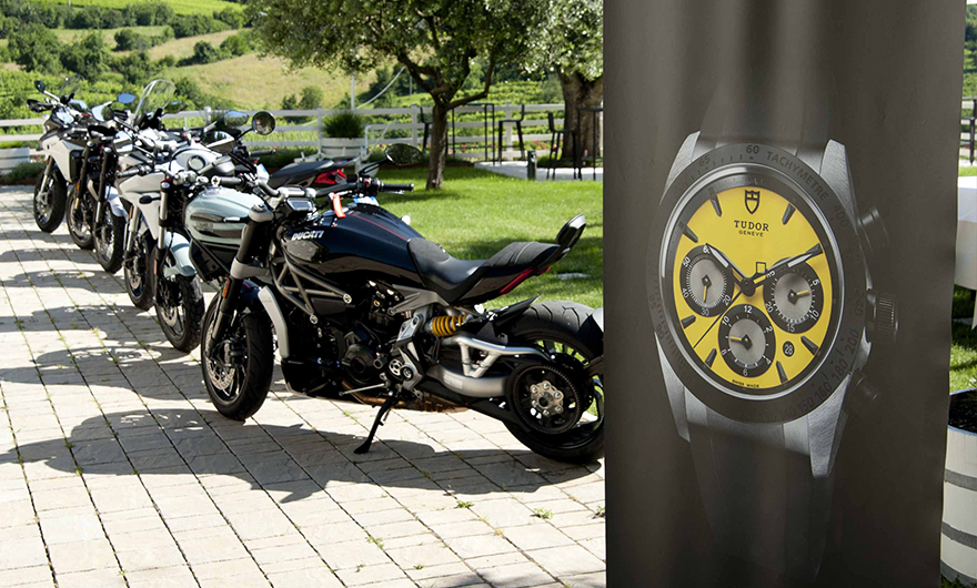 Tudor and Rocca 1794 presented Tudor last collections together with Ducati