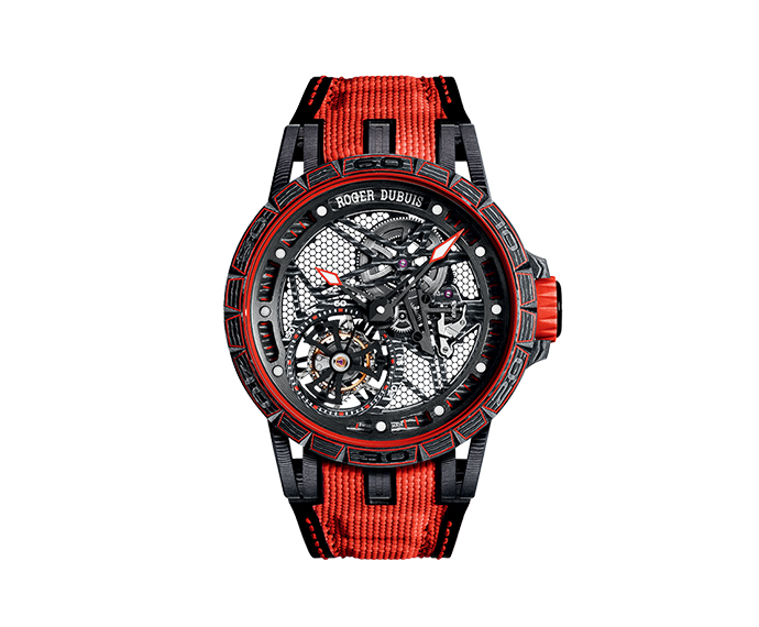 ROGER DUBUIS - Spider Carbon Skeleton Flying Tourbillon