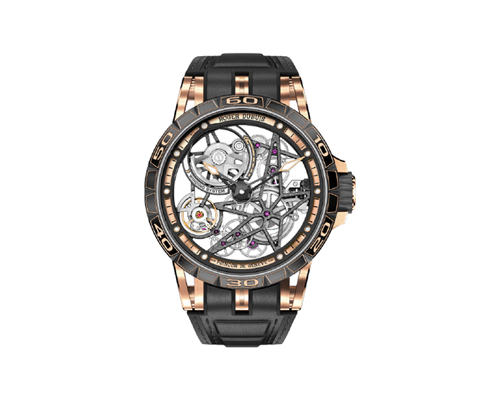 ROGER DUBUIS - Spider - Automatic Skeleton