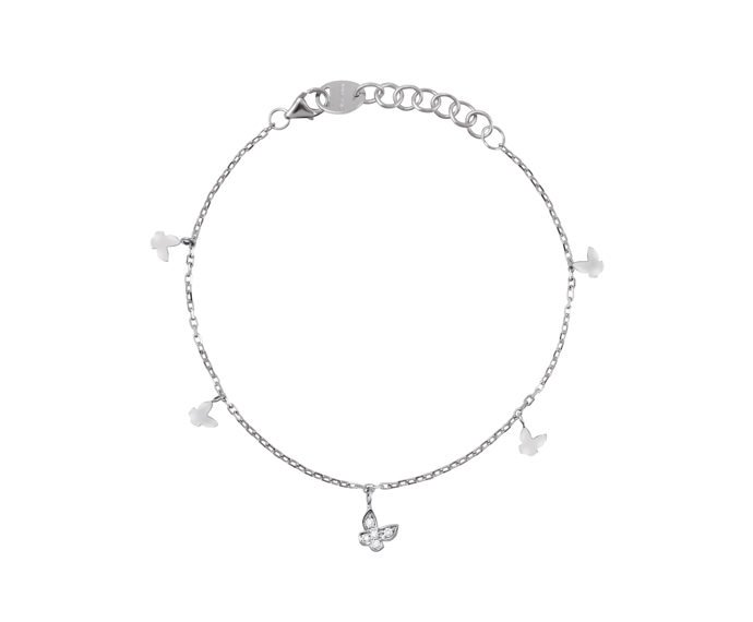 Salvini - Bracelet in white gold 9 KT and diamonds
