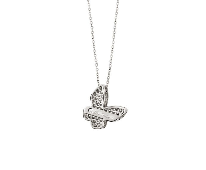 Salvini - Necklace butterfly in white gold 9 KT