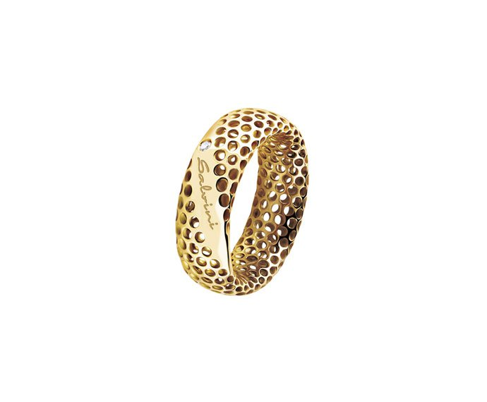 SALVINI - Ring in yellow gold 9 KT