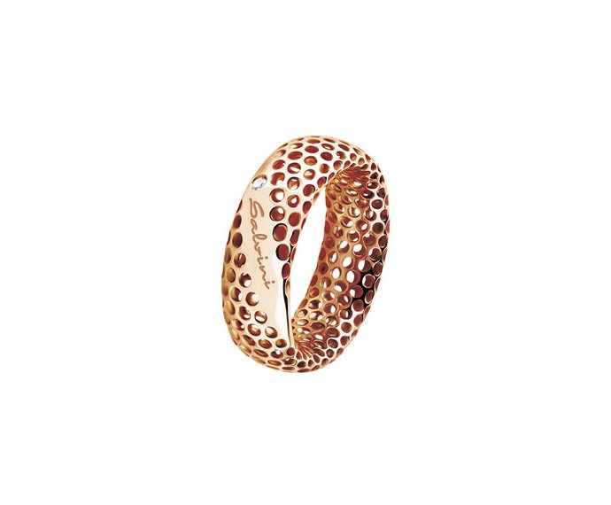 SALVINI - Ring in pink gold 9 KT