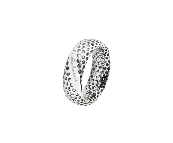 SALVINI - Ring in white gold 9 KT