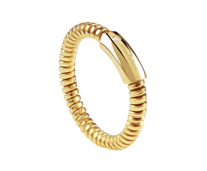 SALVINI - Ring in yellow gold and diamond