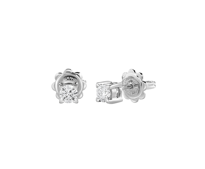SALVINI - Earrings in white gold with diamonds