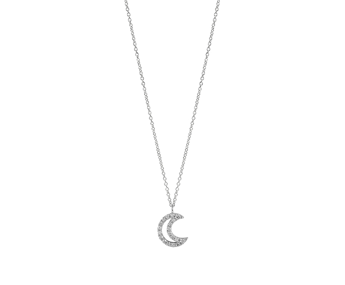 SALVINI - White gold necklaces with diamonds