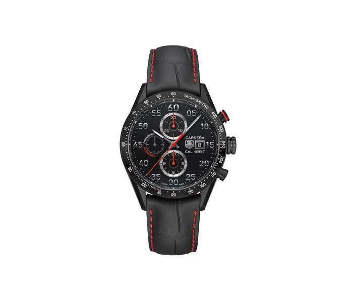 TAG Heuer - Carrera Caliber 1887 43mm Cronograph Racing