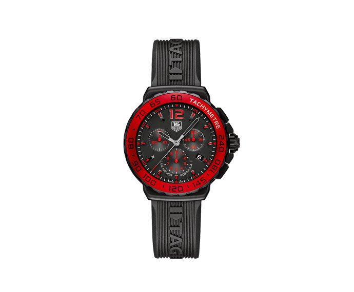 TAG HEUER - Formula 1 Cronograph Black and Red Dial