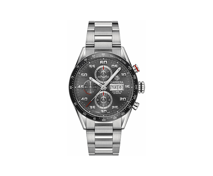 TAG HEUER - Carrera 43 mm Anthracite dial