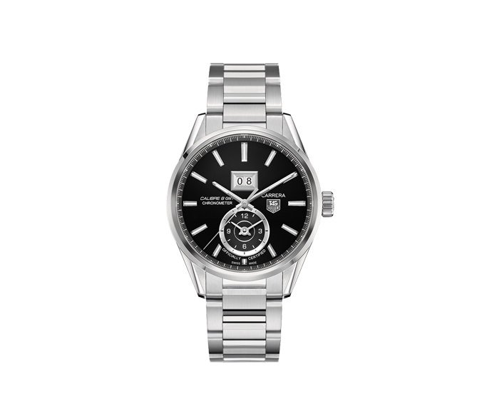 TAG Heuer - Carrera Caliber 8 GMT Date Black Dial