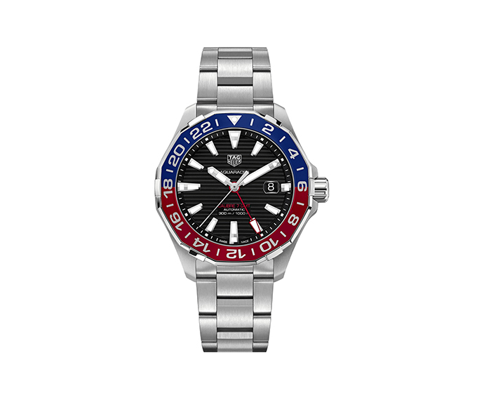 TAG HEUER - Aquaracer Calibre 7 GMT Auto 43 mm