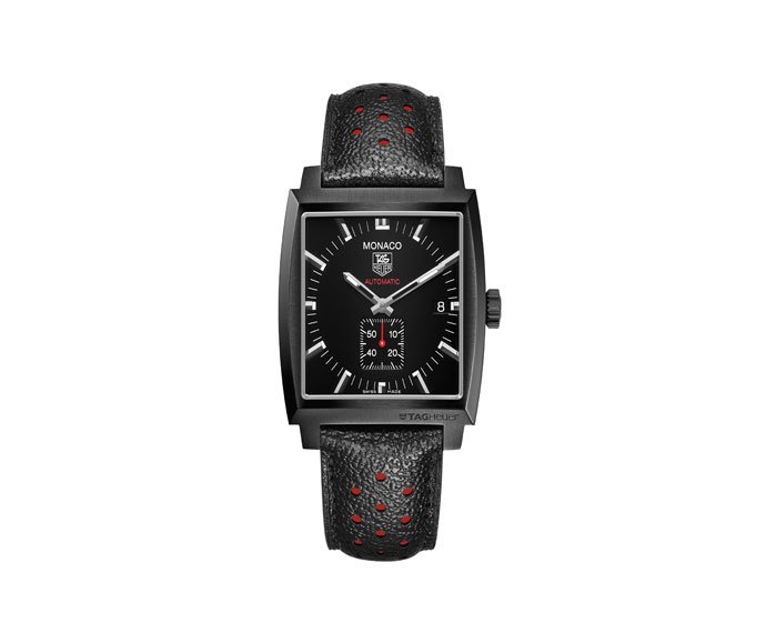 TAG HEUER - Monaco Caliber 6 Automatic Full Black