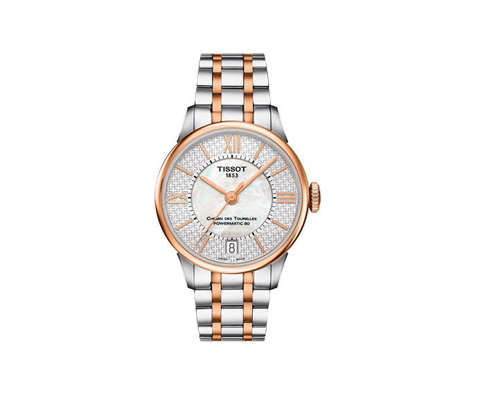 TISSOT - Chemin Des Tourelles Powermatic 80 Helvetic Pride Lady