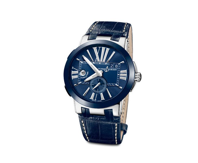 ULYSSE NARDIN - Executive Dual Time - 243-00/43