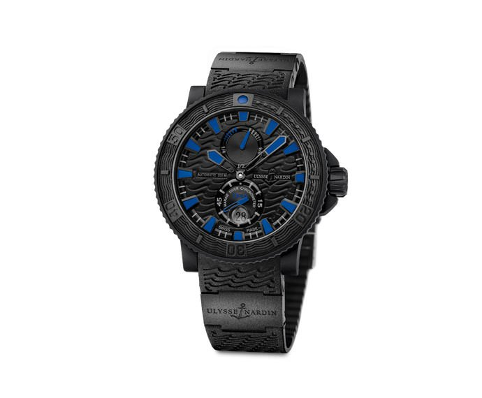 ULYSSE NARDIN - Black sea/Blue sea - 263-92-3C