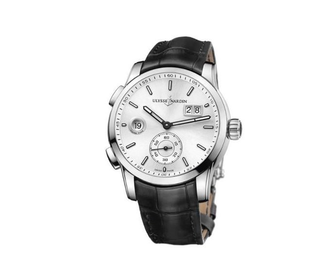 ULYSSE NARDIN - Dual Time Manufacture - 3343-126/91