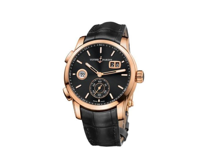 Ulysse Nardin - Dual Time Manufacture – 3346-126/92
