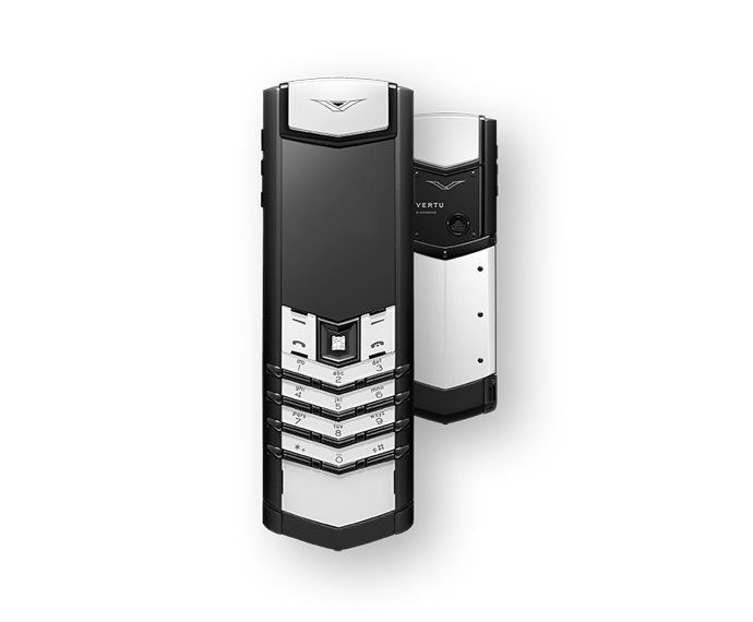 VERTU - Black and White