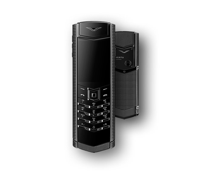 VERTU - Clous de Paris Pure Black