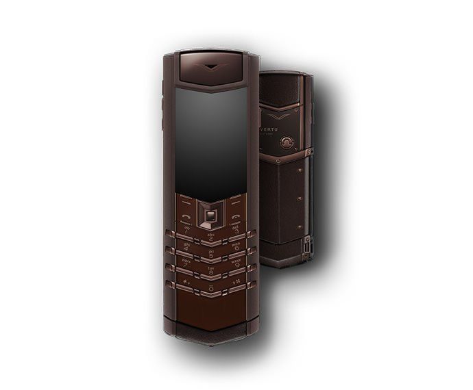 VERTU - Pure Chocolate Stainless Steel