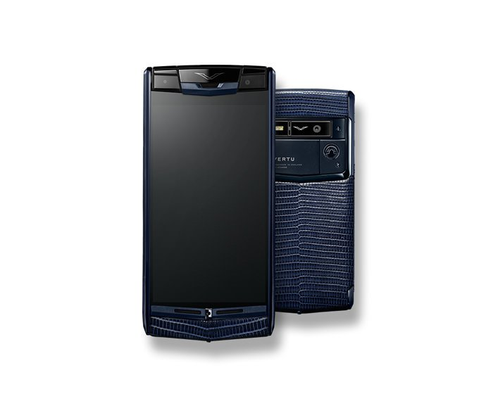 Vertu - Pure Navy Lizard